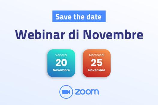 Webinar Novembre 2020