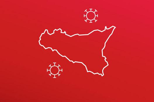 """La Sicilia """"zona rossa"""" fino al 31/01/2021"""