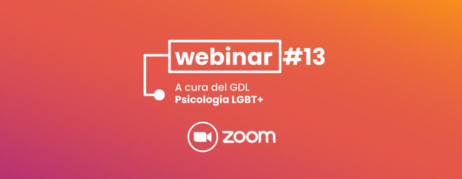 Webinar #13 – Le identità sessuali